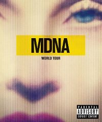 Cover Madonna - MDNA World Tour [DVD]